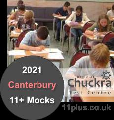 Chuckra 11Plus Mock Test Centre - Canterbury