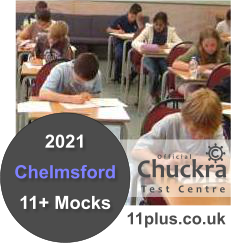Chuckra 11Plus Mock Test Centre - Chelmsford