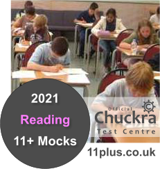 Chuckra 11Plus Mock Test Centre - Reading
