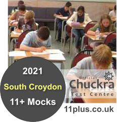 Chuckra 11Plus Mock Test Centre - South Croydon