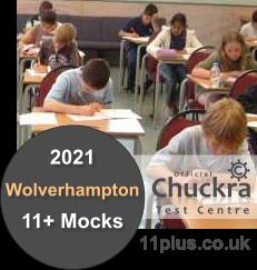 Chuckra 11Plus Mock Test Centre - Wolverhampton